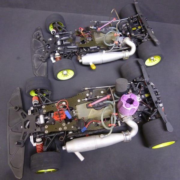 エンジン式 ラジコンカー RC 2台 ベルトドライブ4WD