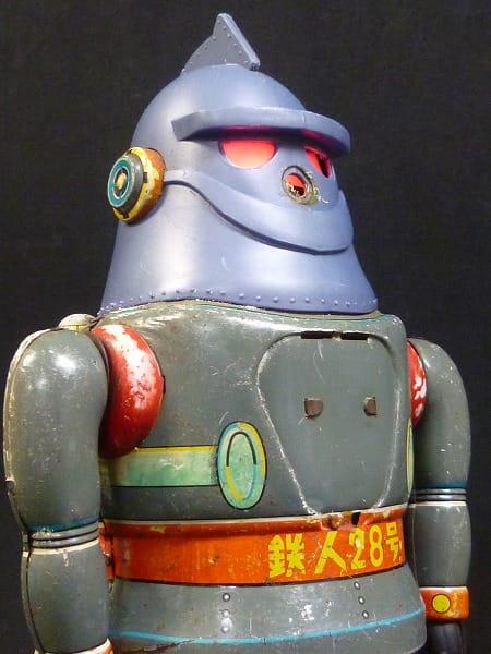 野村トーイ 鉄人28号 ブリキロボット 当時物