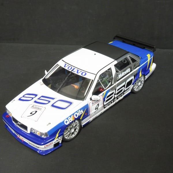オートアート 1/18 ボルボ 850 セダン BTCC #9 ミニカー