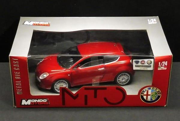 MONDO MOTORS 1/24 アルファ・ロメオ ミト モデルカー