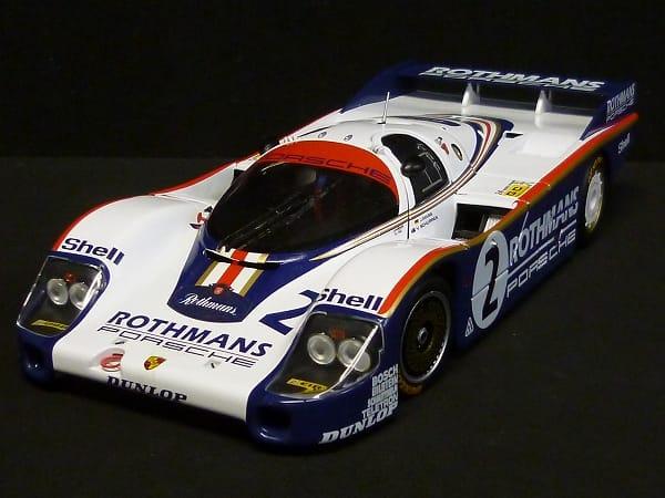 ミニチャンプス 1/18 ポルシェ956 #2 Rothmans ミニカー