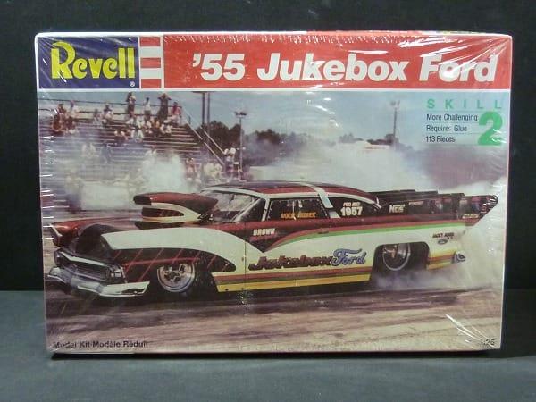 レベル 1/25 '55 Jukebox Ford ドラッグカー
