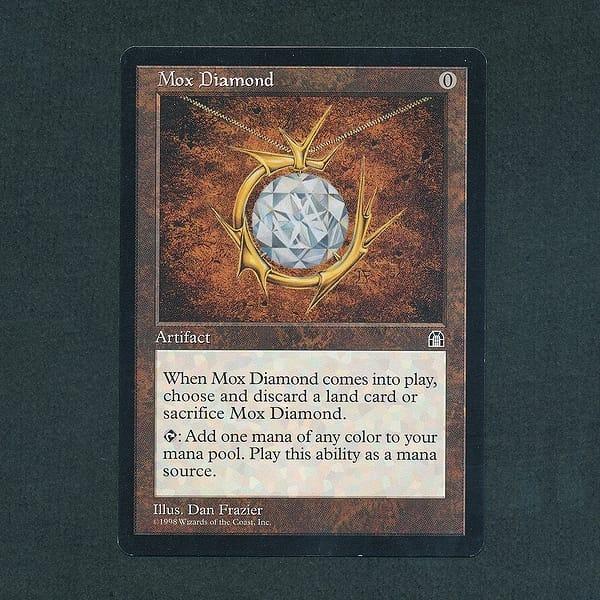 MTG モックス・ダイアモンド Mox Diamond 英語 レガシー