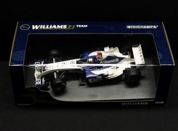 ミニチャンプス 1/18 ウィリアムズ FW26 モントーヤ