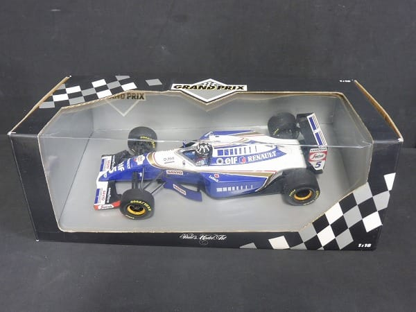 Minichamps 1/18 ウィリアムズ F-1 FW16 デイモン・ヒル