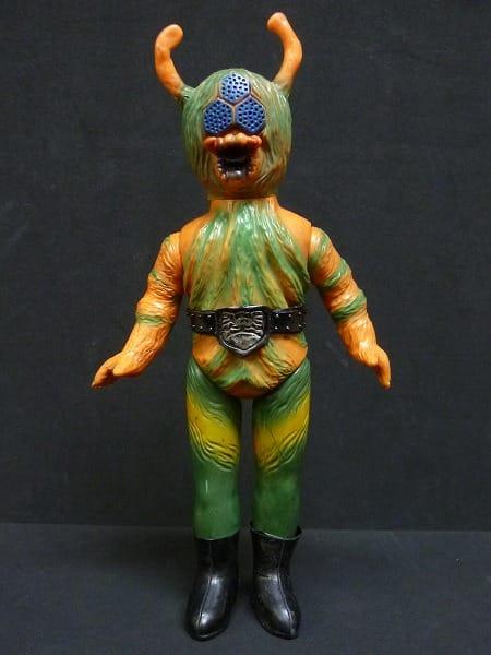 旧バンダイ 仮面ライダー 怪人 くも男 ソフビ
