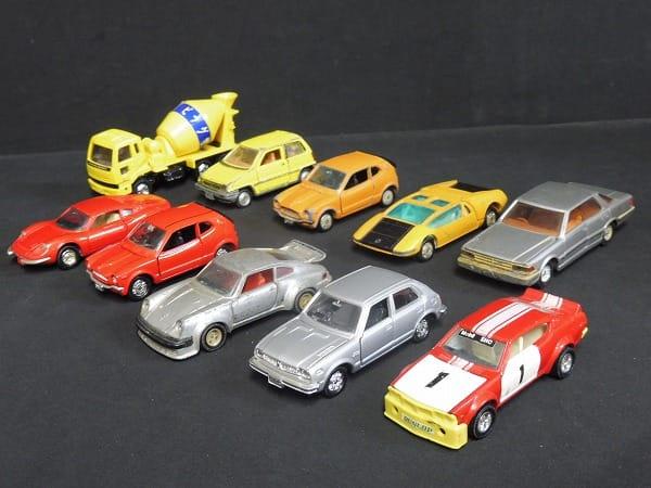 当時 トミカ ダンディ 日産 グロリア他 日本製 ミニカー