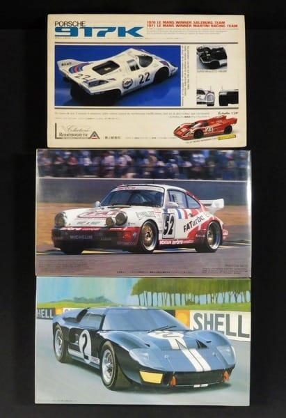 1/24 ユニオン ポルシェ 917K , フジミ ポルシェ RSR 他