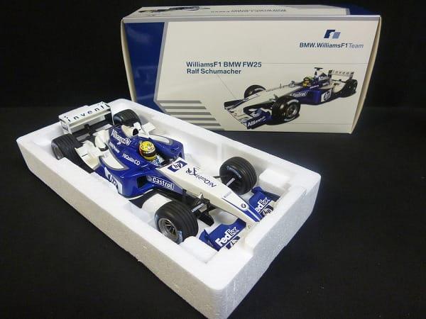 PMA ミニチャンプス WilliamsF1 BMW FW25 Rシューマッハ