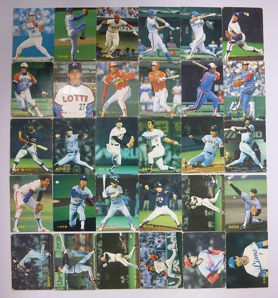 カルビー プロ野球チップスカード 1988年 No.140~172 当時物