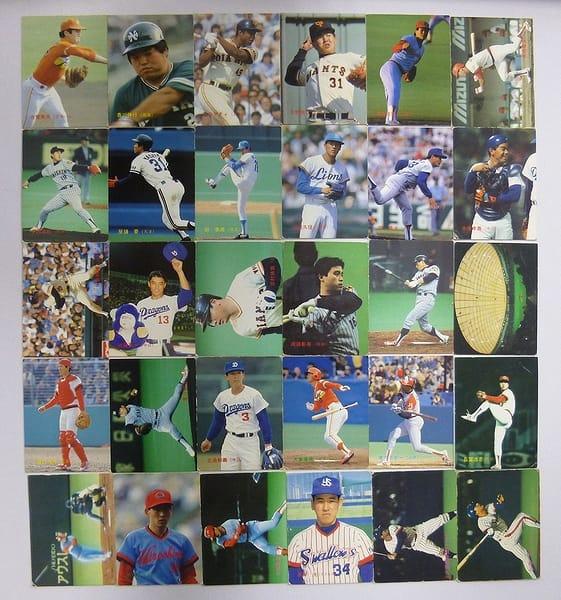 カルビー プロ野球チップスカード 1988年 No.36~122 当時物