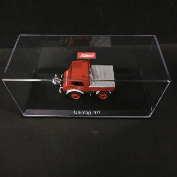シュコー 1/43 UNIMOG ウニモグ 401 消防車バージョン