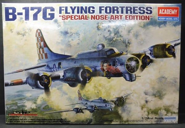 アカデミー 1/72 B-17G FLYNG FORTRESS 限定 未組立