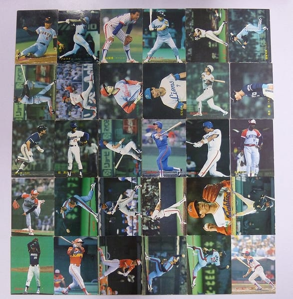 カルビー プロ野球チップスカード 1988年 No.159~196 当時物