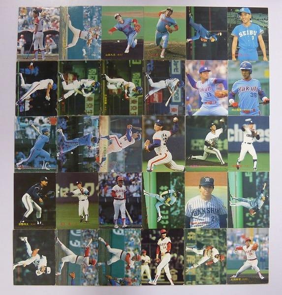カルビー プロ野球チップスカード 1988年 No.197~229 当時物