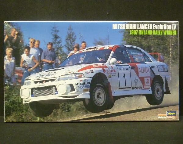 ハセガワ 1/24 ランエボ Ⅳ 1997年 ラリー 優勝車