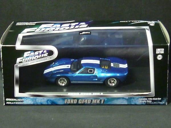 グリーンライト 1/43 フォード GT40 MK I / ミニカー