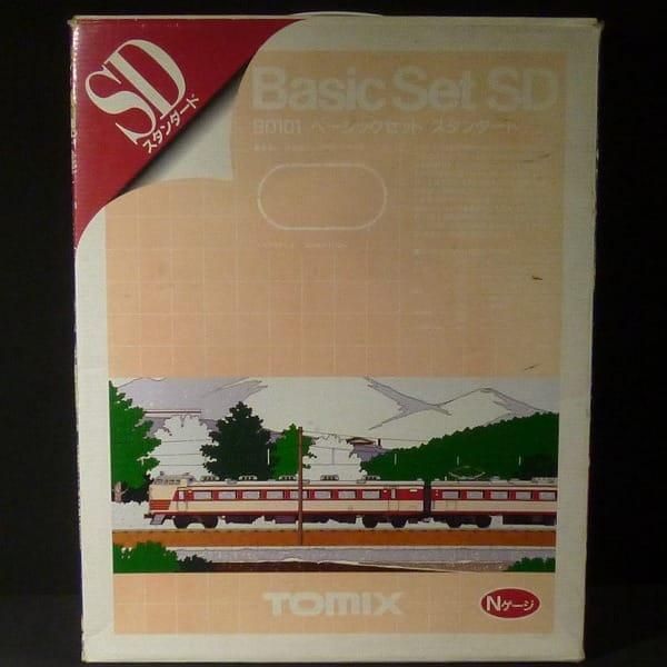TOMIX Nゲージ 90101 ベーシック セット SD 鉄道模型