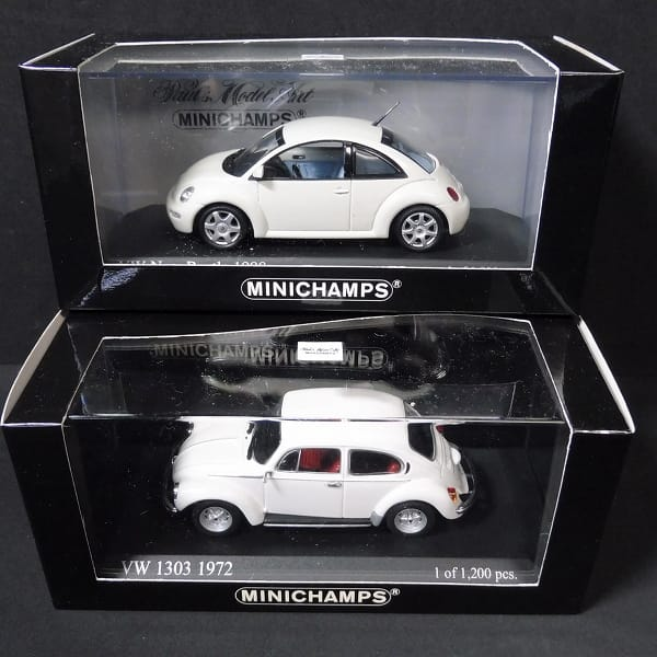 PMA ミニチャンプス 1/43 VW 1303 1972 New Beetle 1998