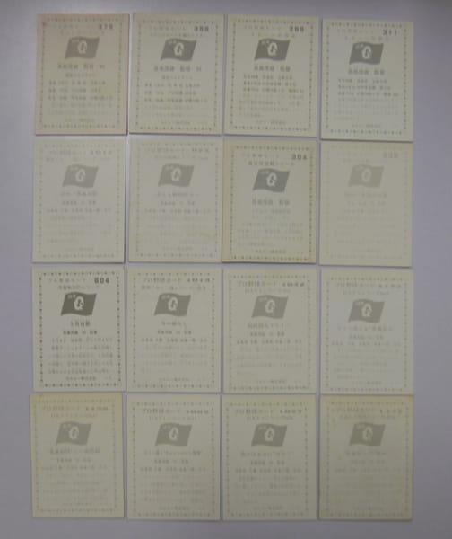 カルビー プロ野球チップスカード 1976 長島茂雄 当時物_2