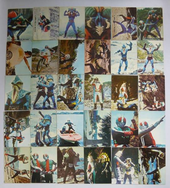 カルビー 旧 仮面ライダースナックカード No.218~251 当時物
