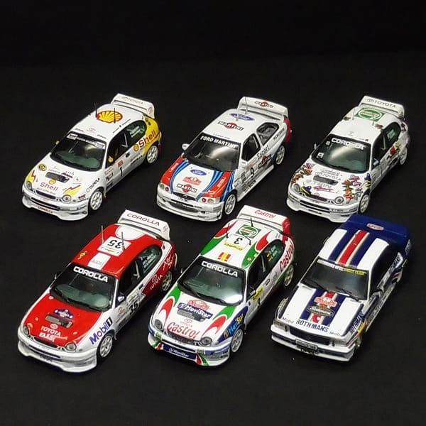 ビテス 1/43 カローラ エスコート アスコナ ラリー WRC