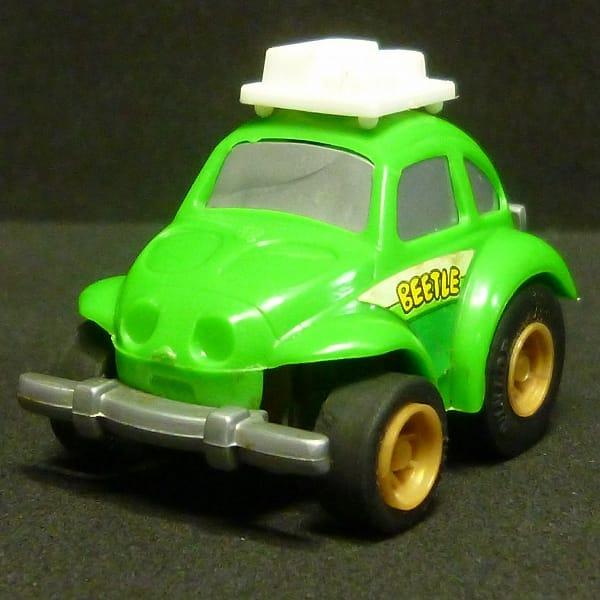 豆ダッシュ VW ビートル 緑 希少 当時物  チョロQ
