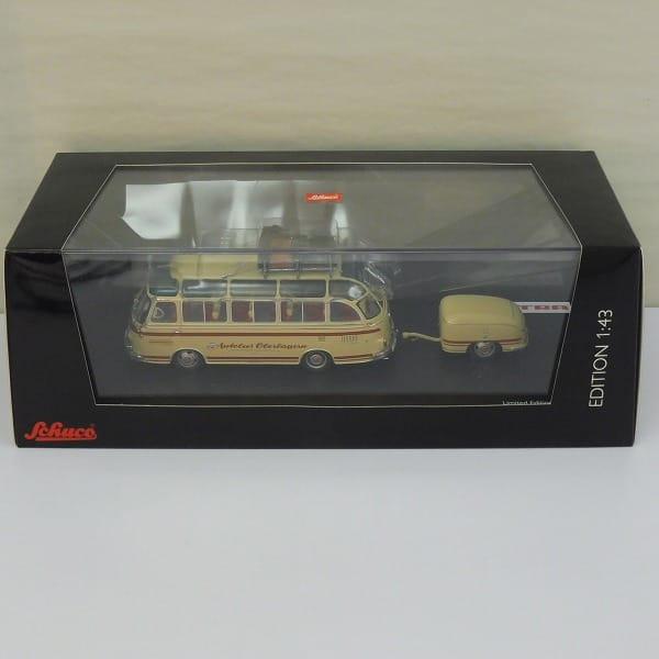 シュコー 1/43 Setra S6 バス 1500台限定 / ミニカー