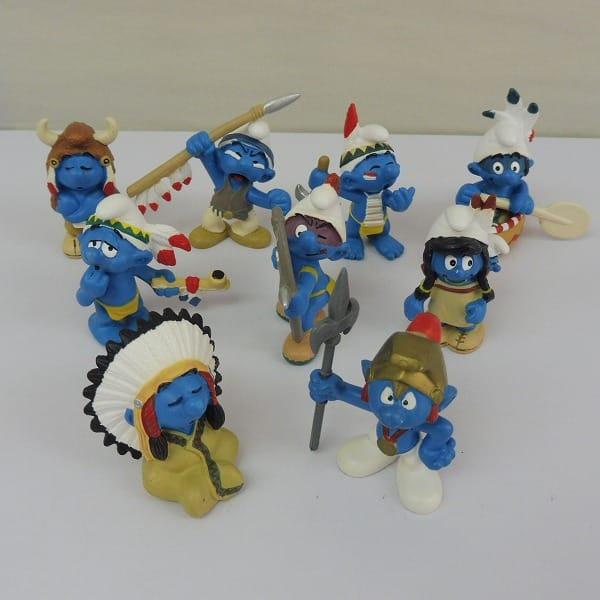 シュライヒ スマーフ インディアンシリーズ 8種 コンプ