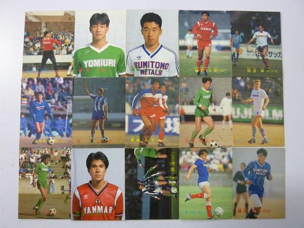 カルビー サッカー カード 1988 15枚 ラモス 武田修宏
