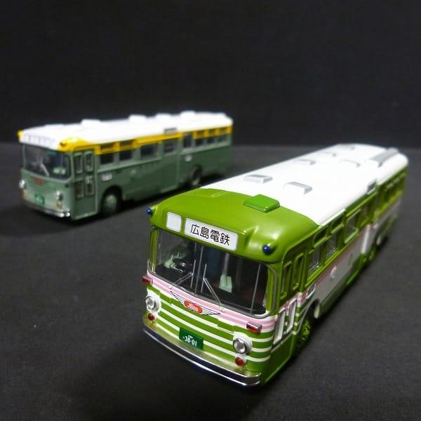 トミカリミテッドヴィンテージ 1/84 広島電鉄バス 他