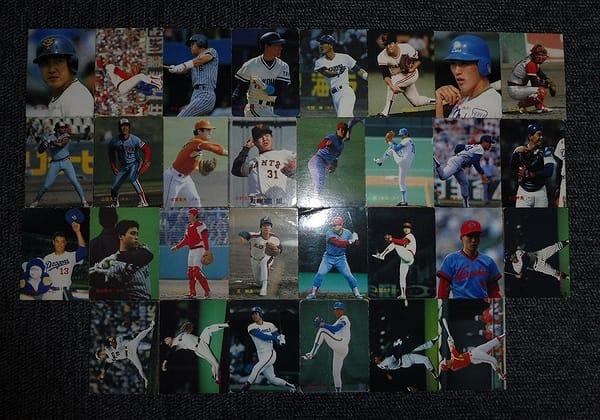 カルビー プロ野球チップスカード 1988年 No.1~138 当時物