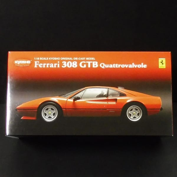 京商 1/18 フェラーリ 308 GTB クワトロバルボーレ