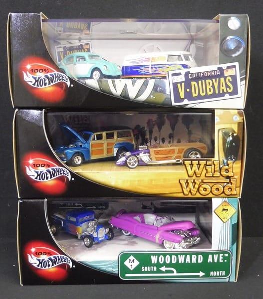 1/64 ホットウィール V-DUBYAS WildWood他ミニカー