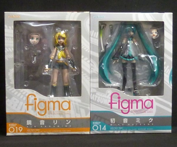 Max Factory figma 初音ミク 鏡音リン / ボーカロイド
