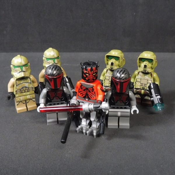 LEGO STARWARS ミニフィグ ダースモール クローン兵 他