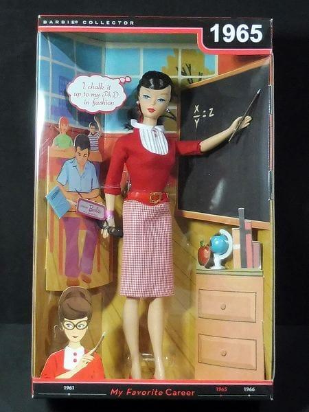 マテル 復刻版 バービー My Favorite Career 1965 教師
