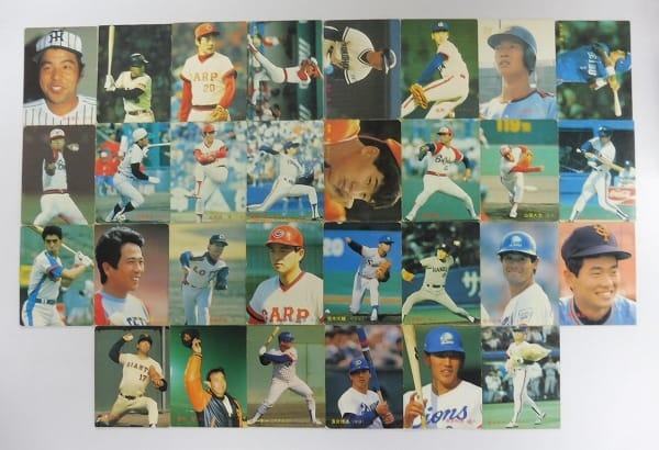 カルビー プロ野球チップスカード 1987年No.1~111 当時物