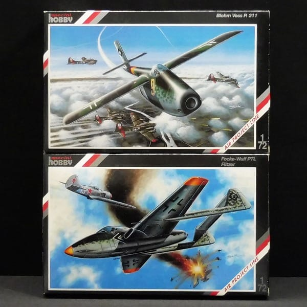 Special hobby 1/72 Blohm Voss P.211 , フリッツァー