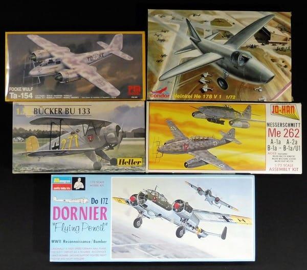 1/72 Ta-154 BU133 Me262 He178V1 DORNIER FlyingPencil
