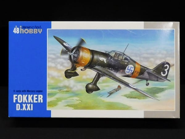 Special hobby 1/48 フォッカー D.XXI フィンランド空軍