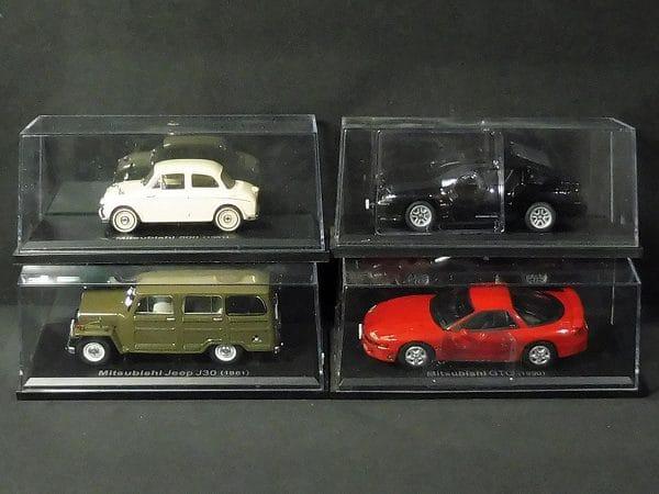 アシェット 国産名車コレクション 三菱 500 , ジープ 他