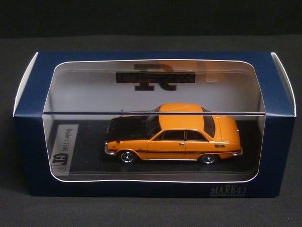 ポストホビー 1/43 いすゞ ベレット GT-R オレンジ