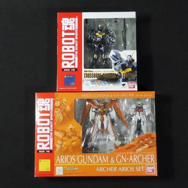ROBOT魂 クロスボーン・ガンダム X2改 アリオスガンダム