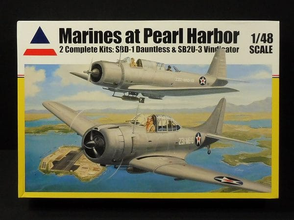 ACCRATE MINITURES 1/48 真珠湾 海軍機 2機セット