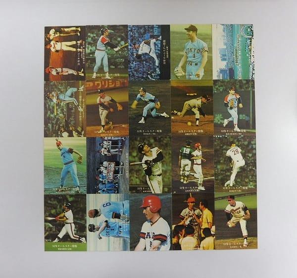カルビー プロ野球カード 1976年 51年オールスター特集