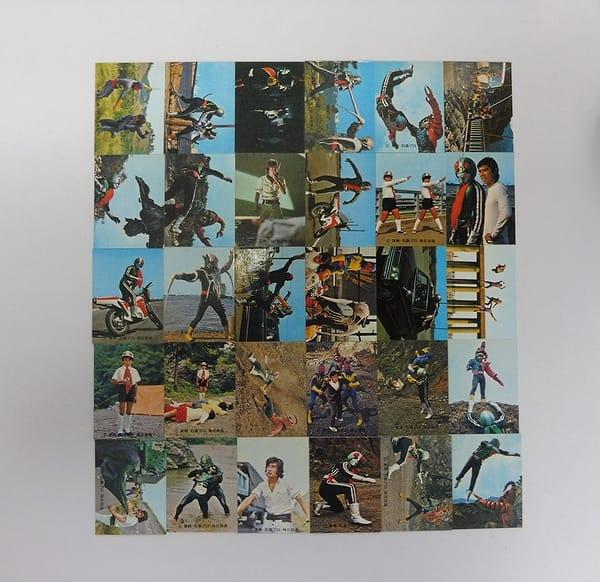 カルビー 当時物 旧 仮面ライダー カード No.337~306
