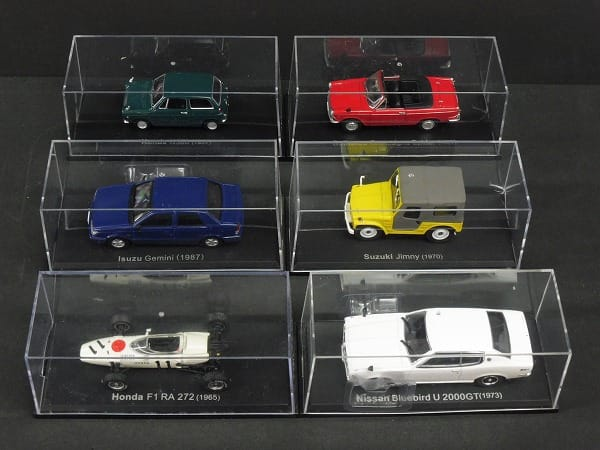 アシェット 1/43 国産名車コレクション スズキ ジムニー
