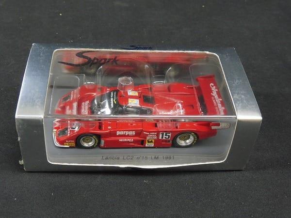 Spark 1/43 ランチア LC2 ル・マン 1991 ミニカー