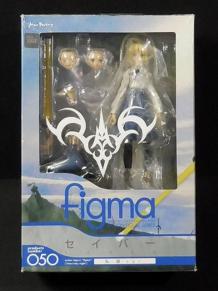 Max Factory figma 050 セイバー 私服ver. / Fate